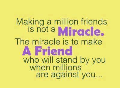 Best Friend Miracle - Best Friend Quote