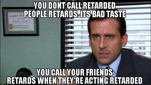 It's Bad Taste - The Office Meme