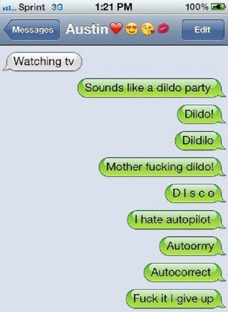Disco Party Fail - Funny SMS fail - text message
