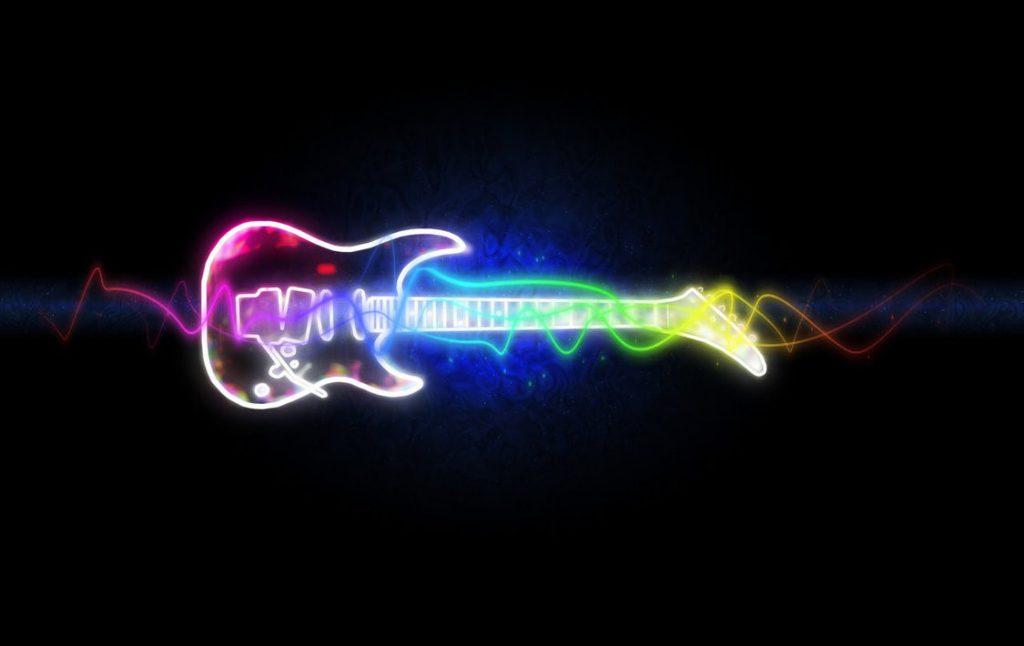 Electric Guitar Wallpaper - cool desktop background