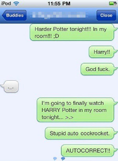 Harry Potter - Funny SMS Fail