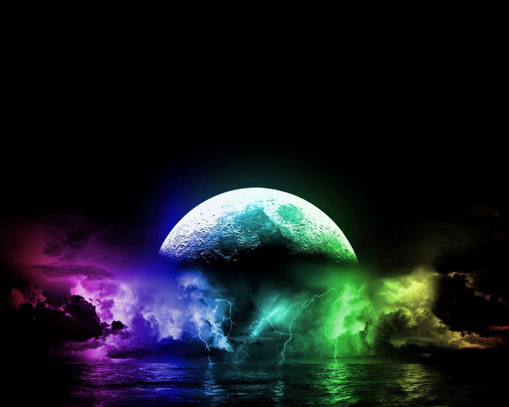 Colorful Planet Wallpaper - Cool Desktop Background