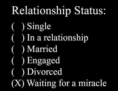 Relationship Status - Meme