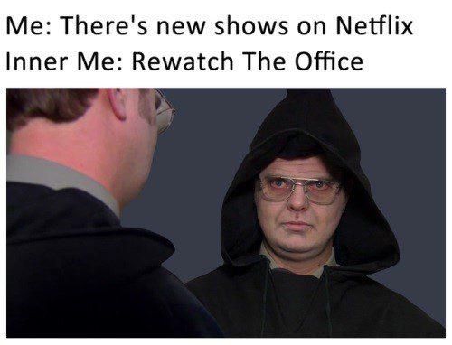 Re-watch The Office - Meme
