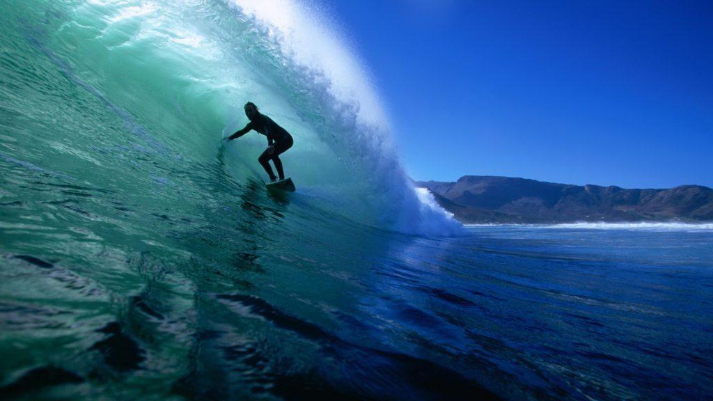 Surfing Wallpaper - cool desktop background
