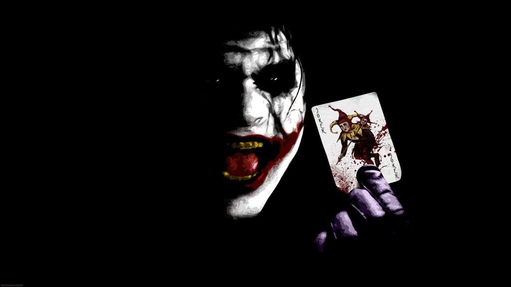 Joker With The Joker - cool desktop background