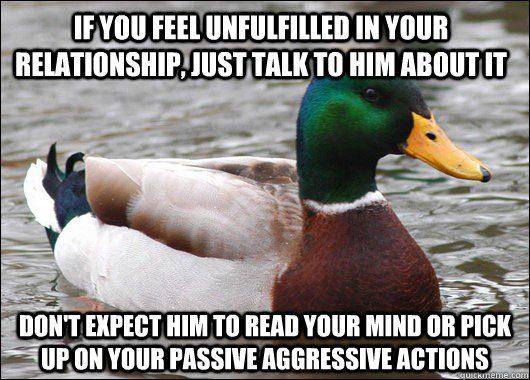 Feeling Unfulfilled - Relationship Meme