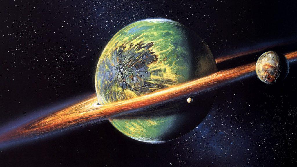 Fantasy Planets Wallpaper - cool desktop background