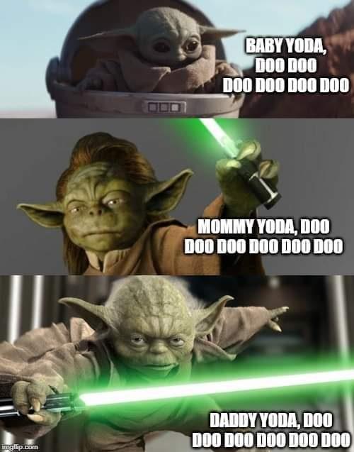 Baby Yoda Doo Doo Doo