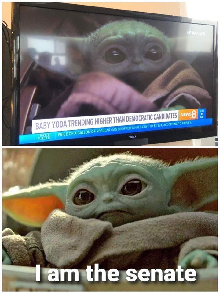Baby Yoda Is Trending