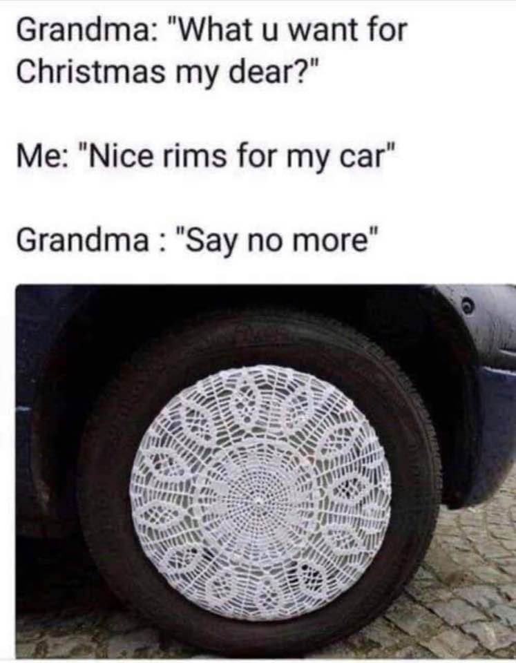 Christmas Gift From Grandma