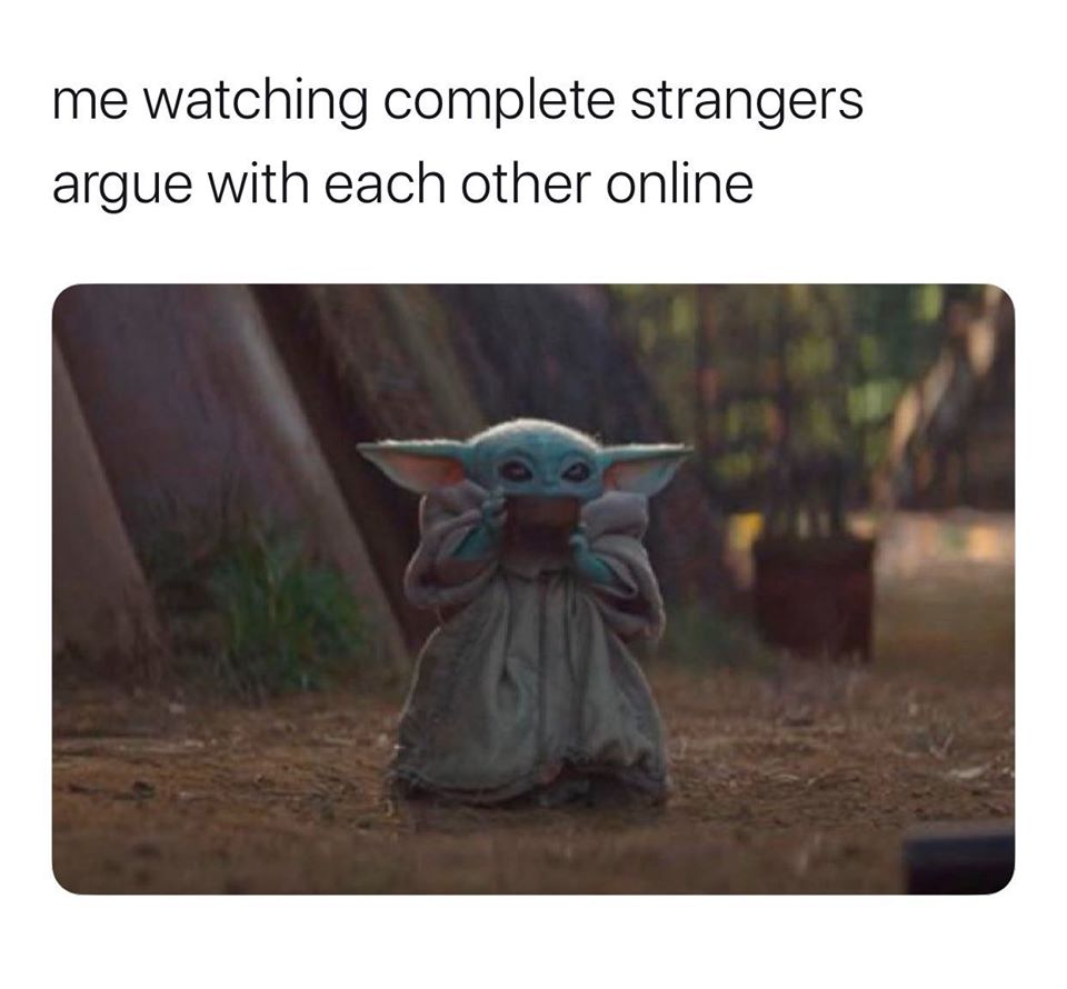 Watching Complete Strangers Argue Online