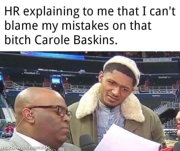 Cant Blame My Mistakes On Carol Baskins