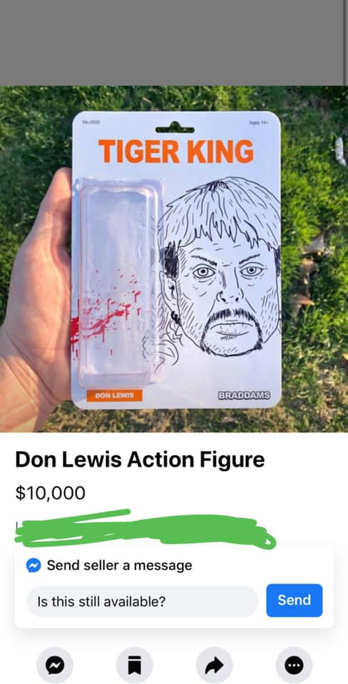 Don Lewis Action Figure