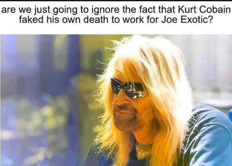 Kurt Cobain Faked His Death