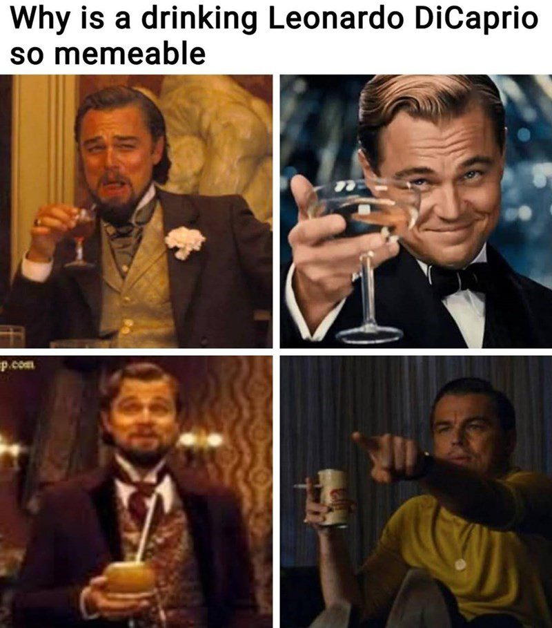 Leonardo Drinking 1
