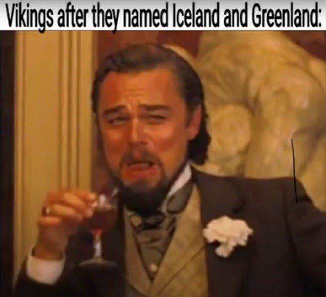Named Iceland Greenland