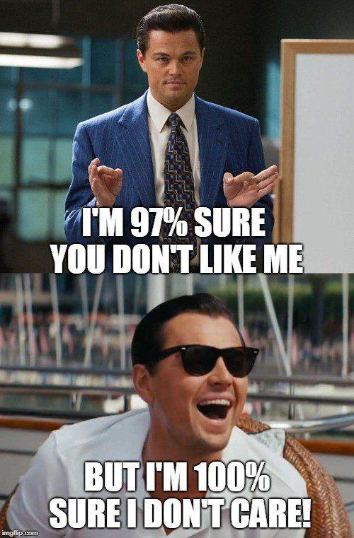 You Dont Like Me