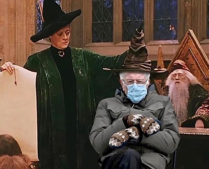 Bernie Harry Potter 2