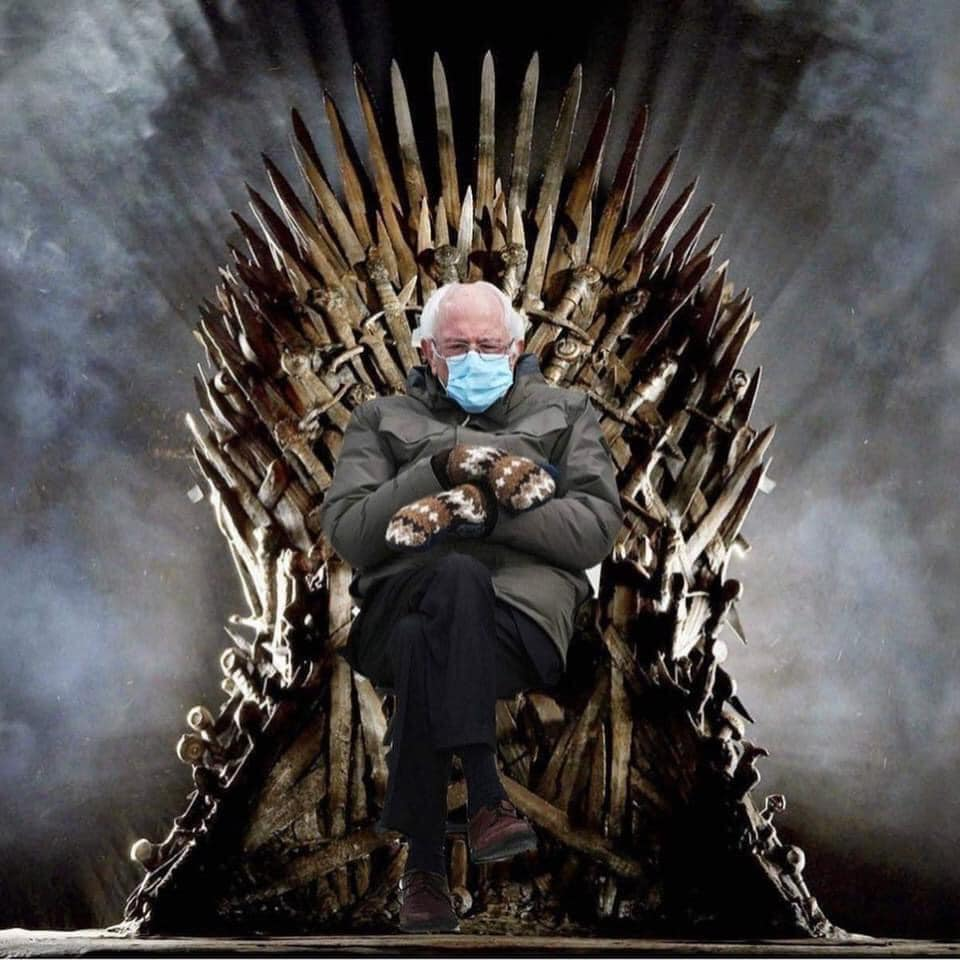 Bernie Of Thrones 2