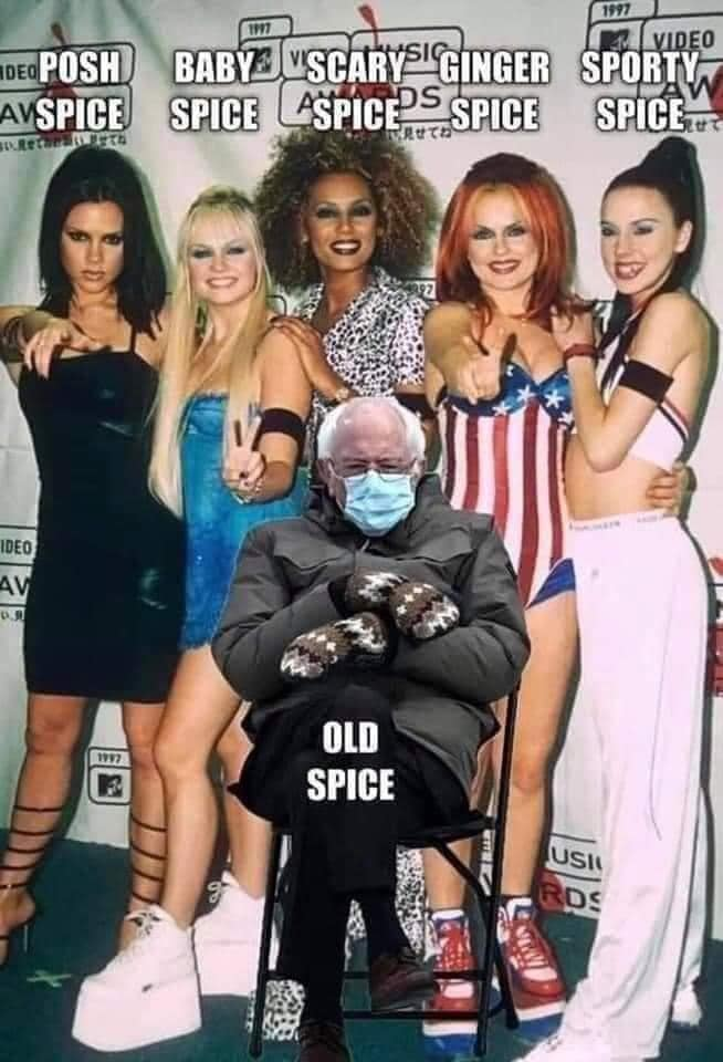 Spice Girl Bernie 2