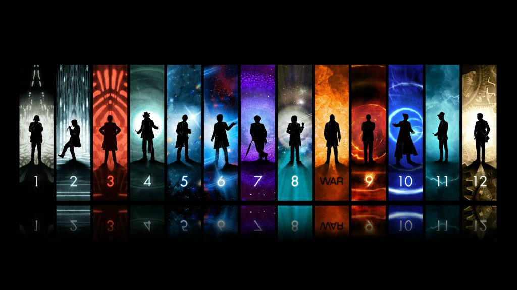 All The Doctors - Dr. Who Wallpaper