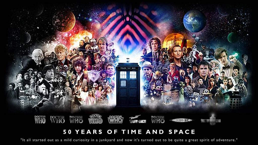 50 Years Of Time And Space - Doctor Who Wallpaper
