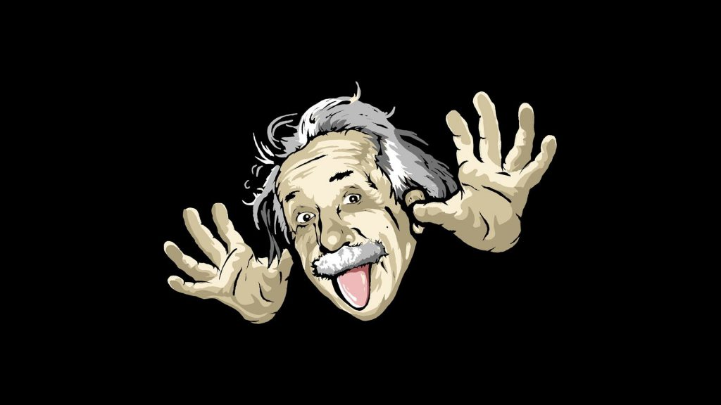 Funny Einstein Wallpaper - Funny Wallpaper Desktop Background