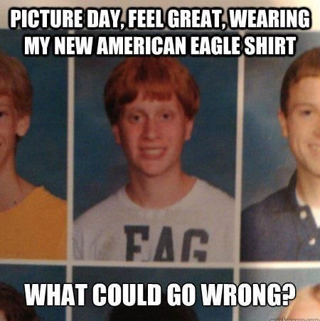 My American Eagle Shirt - Funny Photo