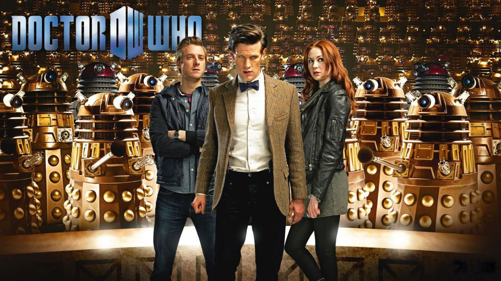 Dr. Who With Amy Pond Wallpaper Background