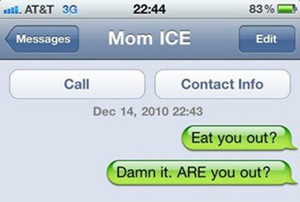 Are You Out? - Funny Sms Fail - Text message