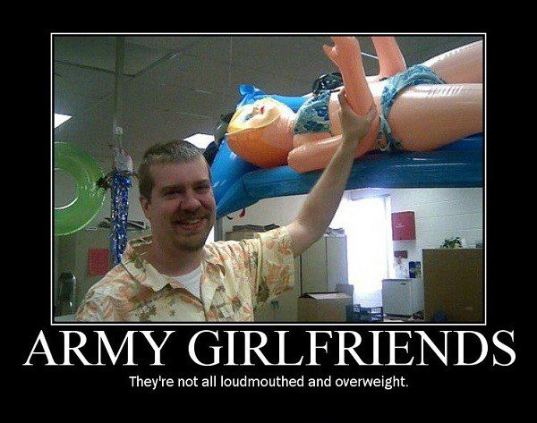 Army Girlfriends - funny caption photo