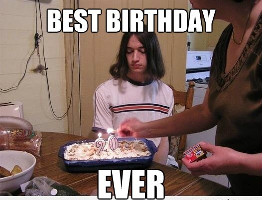 Best Birthday ever meme