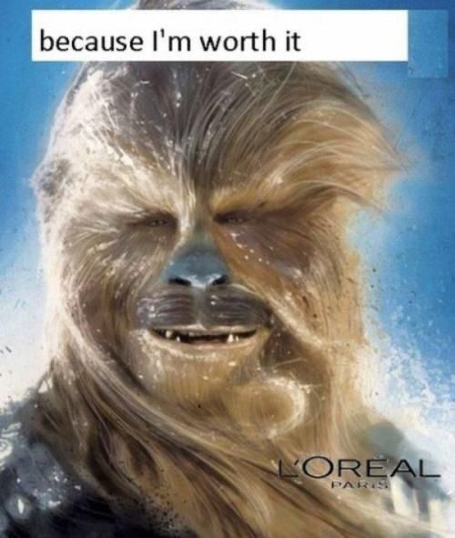 Because I'm Worth It - Really Funny Picture