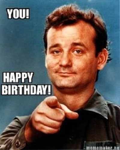 Bill Murray Birthday Meme