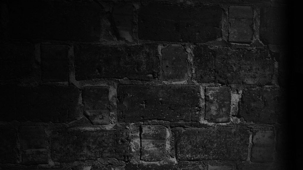 Black and White Brick Wall - Wallpaper Background
