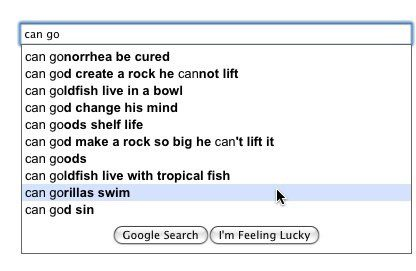 Can Go - Funny Google Search Suggestion