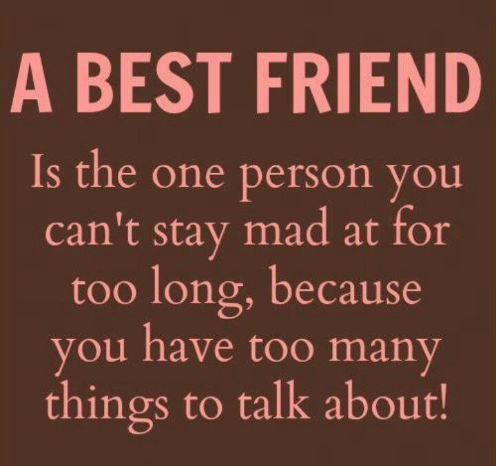 Too Many Things To Talk About - best friend quote picture - bestfriend