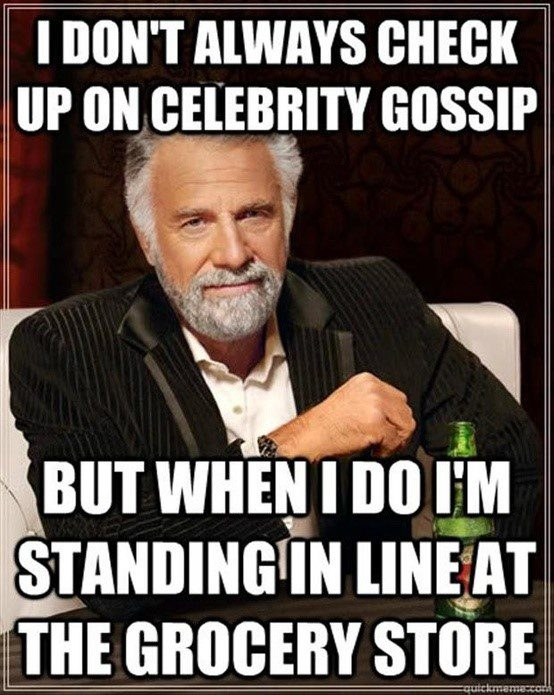 Celebrity Gossip - Funny Caption Picture