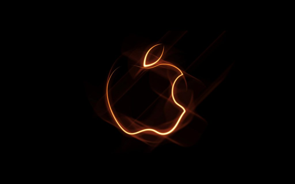 Cool Abstract Apple Logo - desktop background