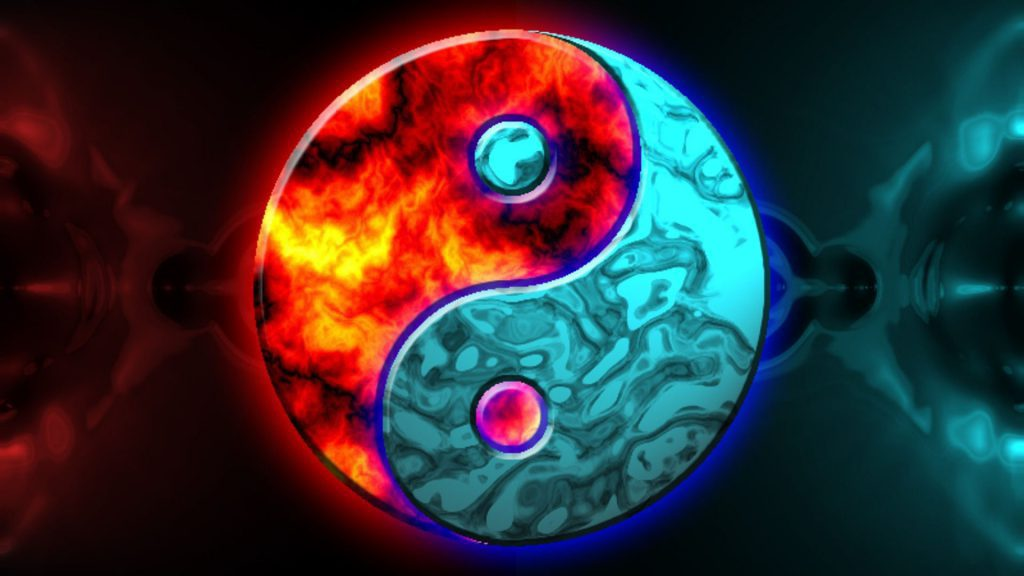 Yin And Yang - Desktop Background