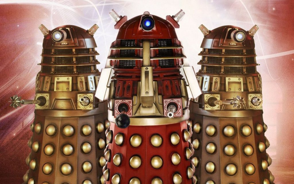 Daleks Dr. Who Wallpaper background