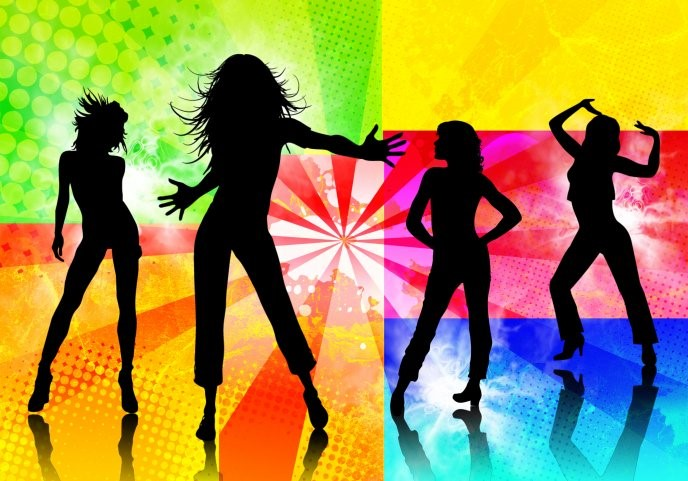 Dancing Wallpaper - HD Background colorful
