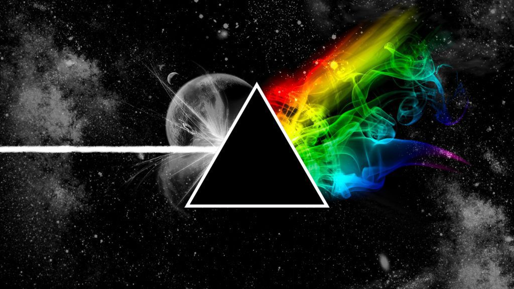 The Dark Side Of The Moon - pink Floyd Wallpaper Background