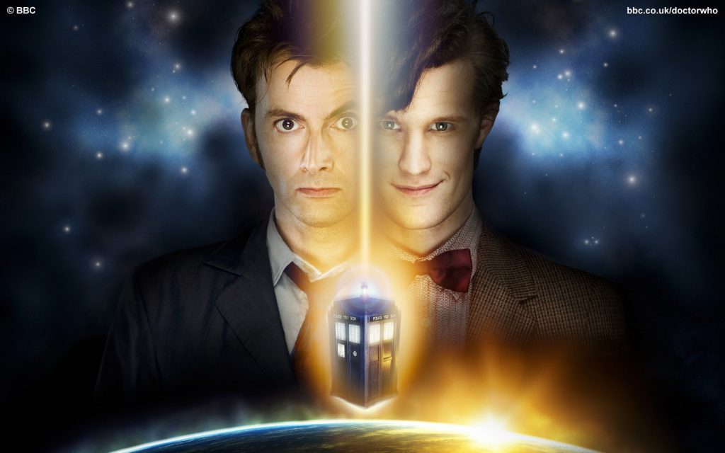 David Tenant And Matt Smith - Doctor Who Wallpaper
