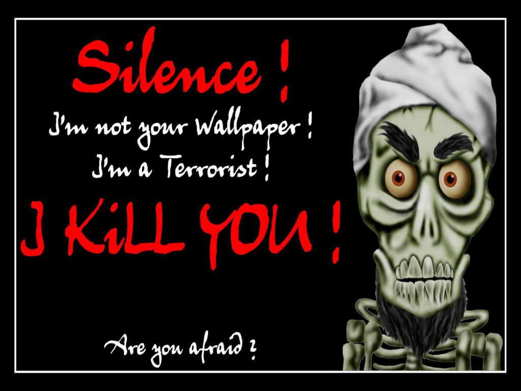 I'm Not Your Wallpaper - Funny Wallpaper
