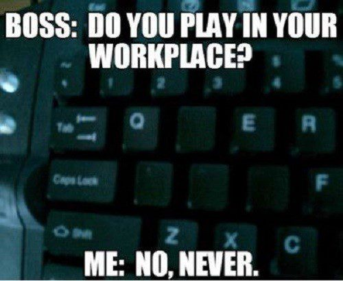 Do You Play In Your Workplace?