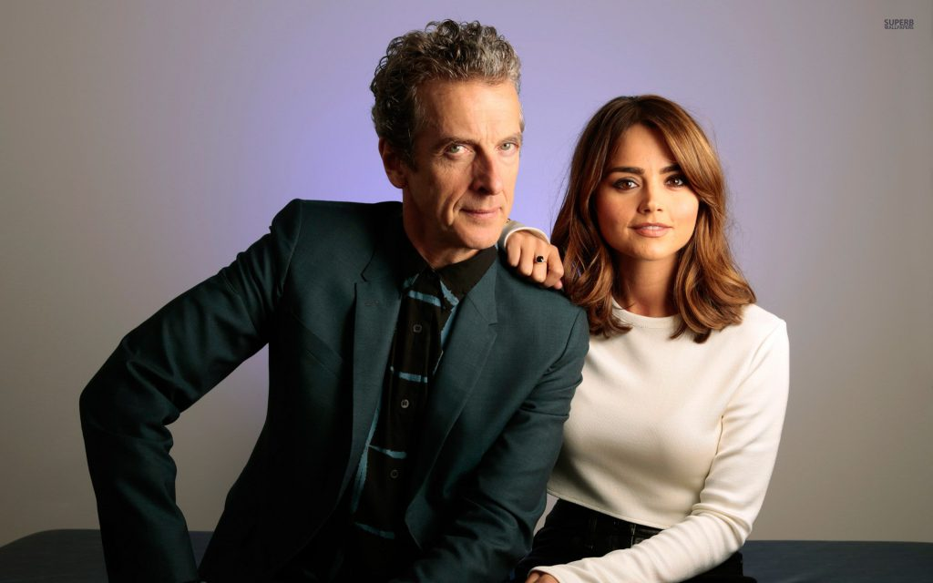Doctor And Clara - doctor who wallpaper