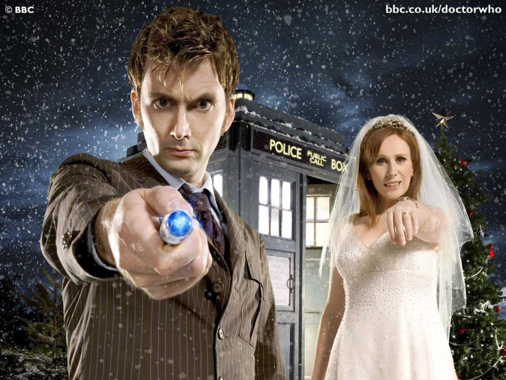The Doctor And Donna - doctor who wallpaper sonic - tardis