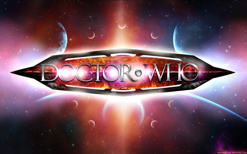 Cool Doctor Who Logo Wallpaper background